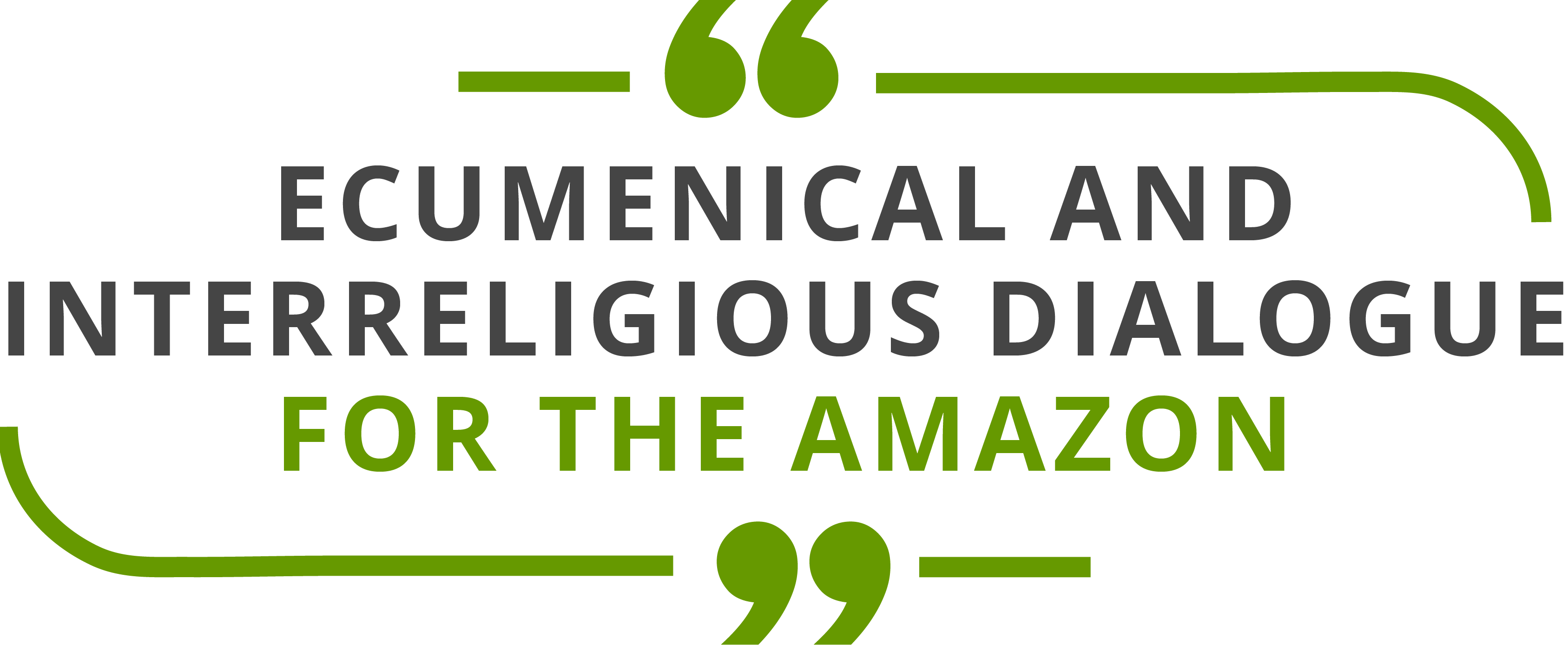 Ecumenical and interreligious dialogue for the Amazon