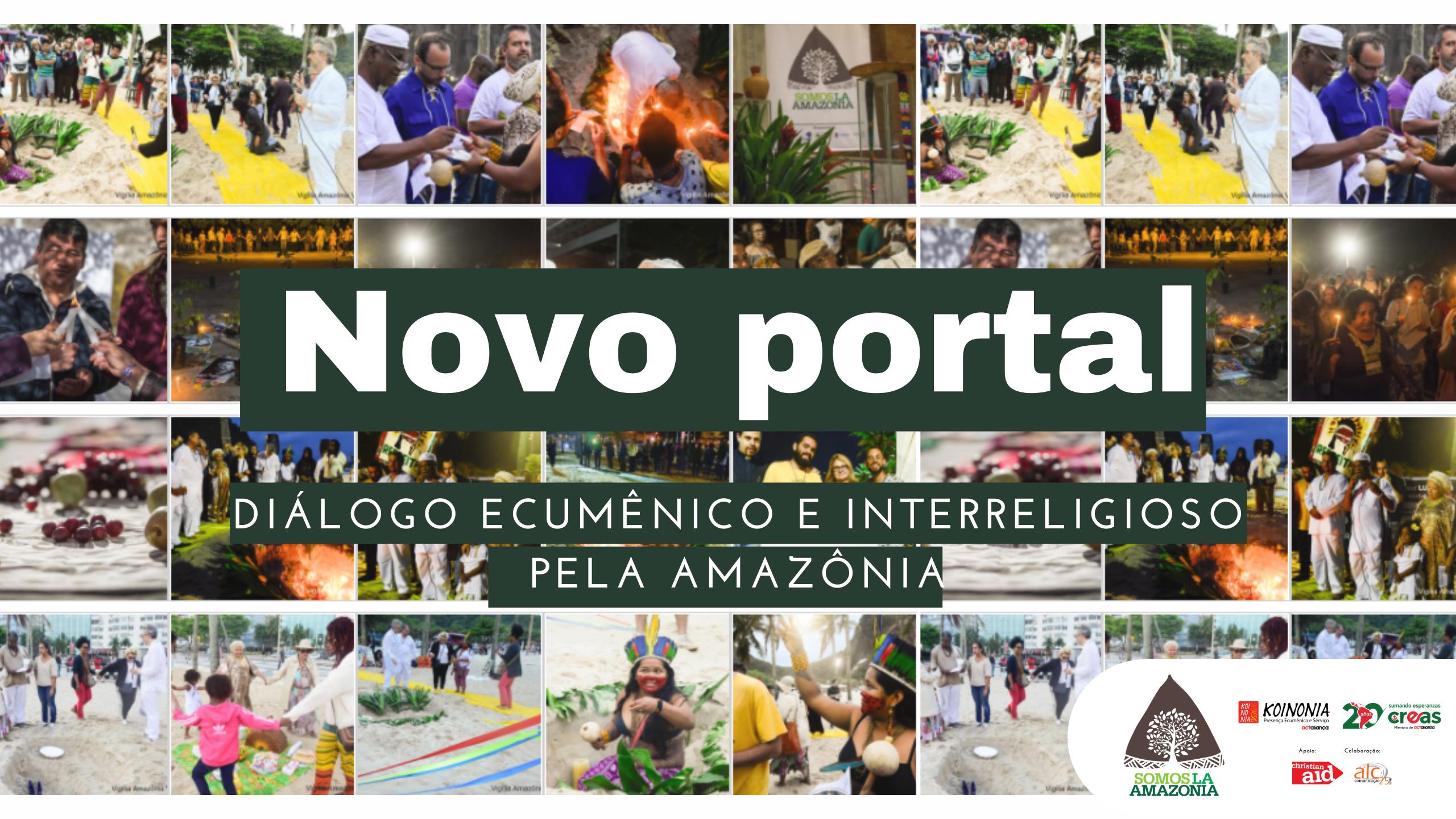 Lançamento: Portal do Diálogo Ecumênico e Interreligioso pela Amazônia