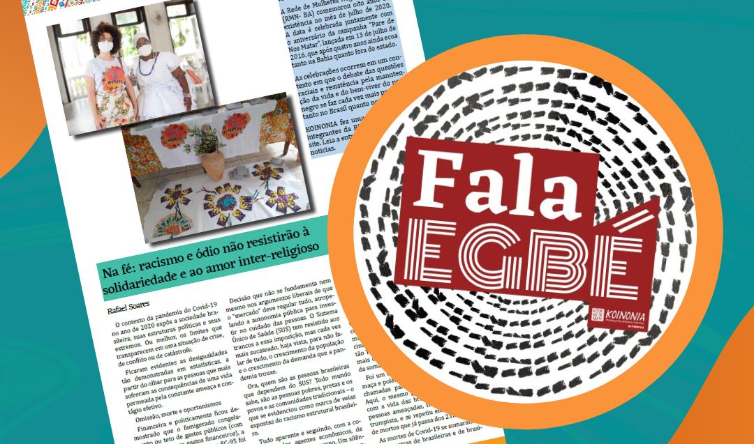 Nova edição do informativo digital Fala Egbé