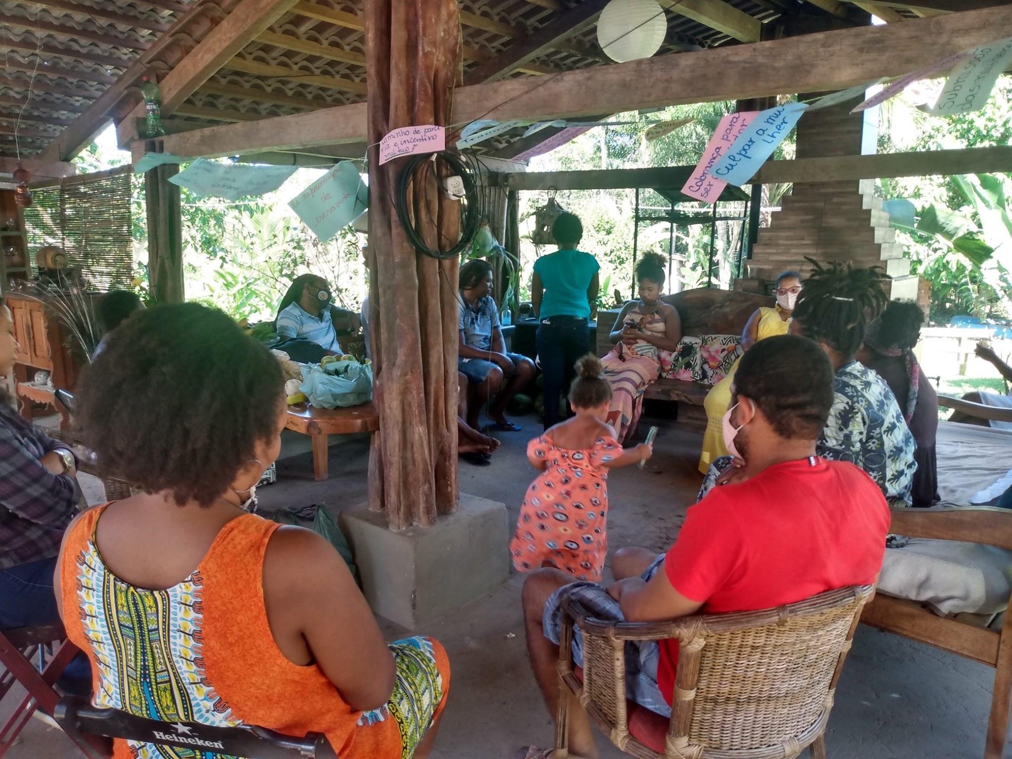 """Projeto """"Construindo Novas Masculinidades"""" tem início em Camamu"""