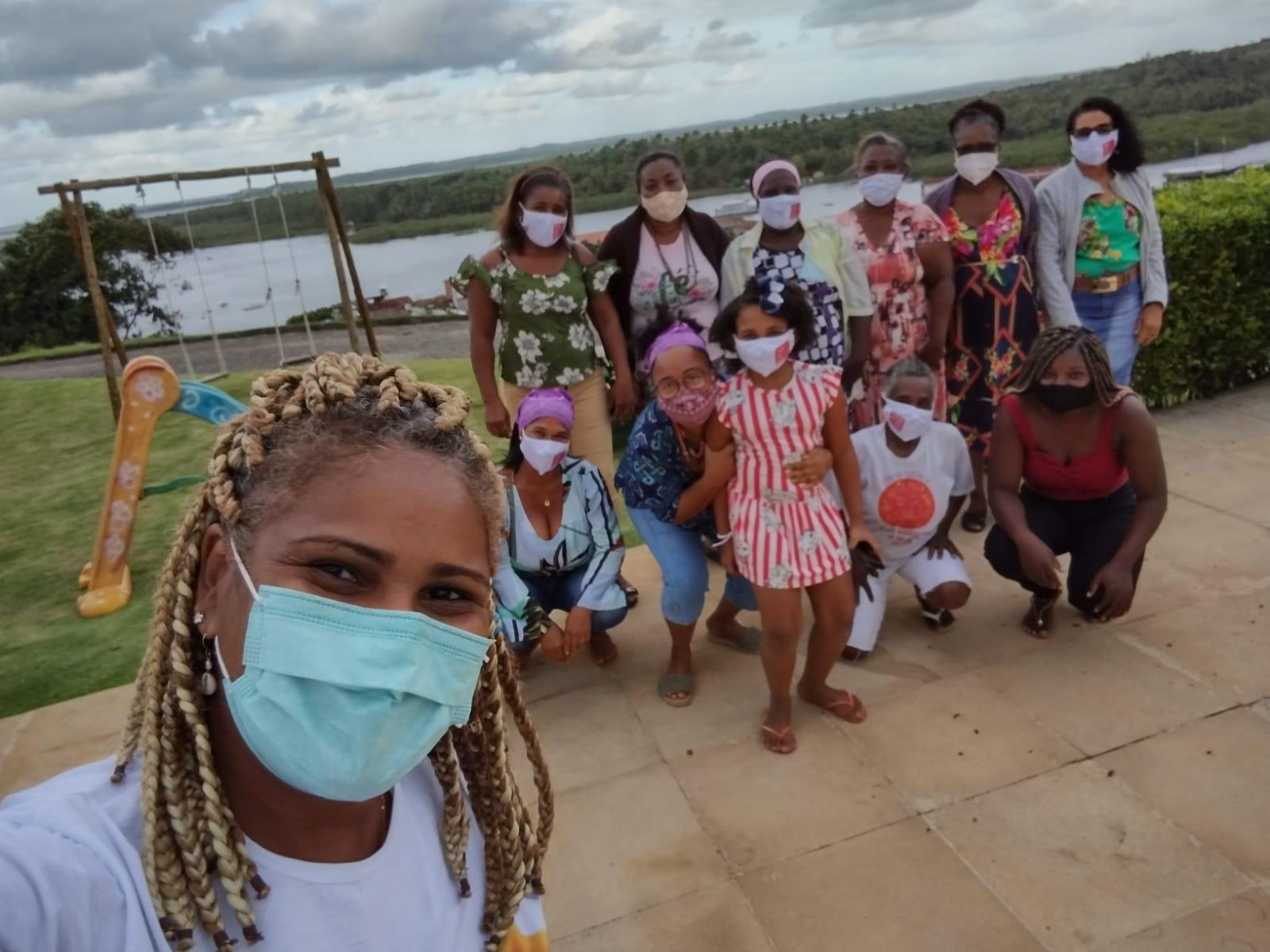 Mulheres negras do Baixo Sul da Bahia avaliam situação de comunidades na pandemia