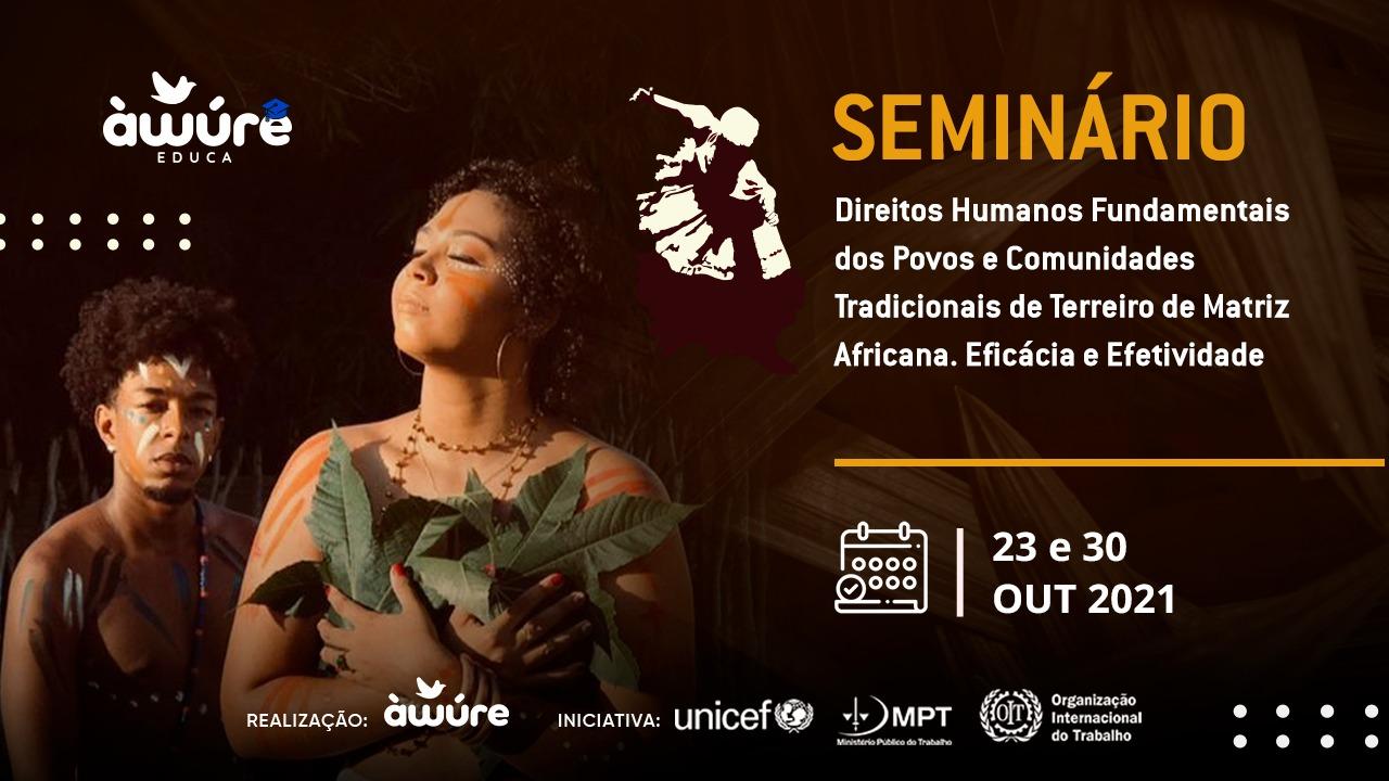 Bahia: seminário discute direitos de povos de terreiro
